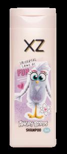 XZ Angry Birds Shampoo ja hoitoaine 2in1